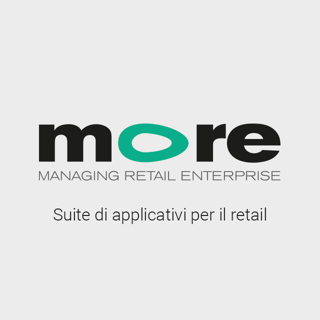MORE: Suite di applicativi per il retail