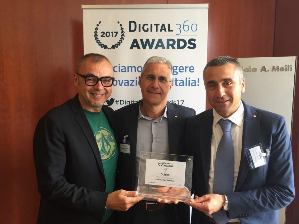Di.Tech e Conad Adriatico finalisti al Digital 360 AWARD 2017