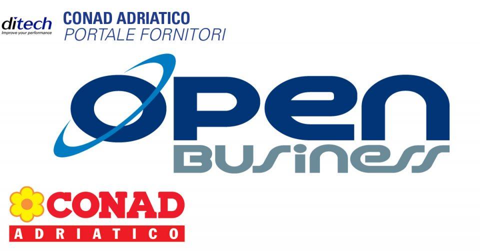 Conad Adriatico – Open Business per la gestione del portale fornitori