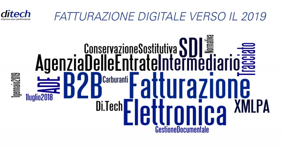 Fatturazione digitale verso il 2019 #3