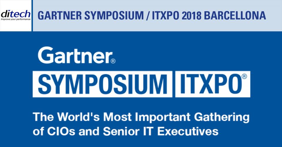 Gartner Symposium/ITxpo Barcellona 2018